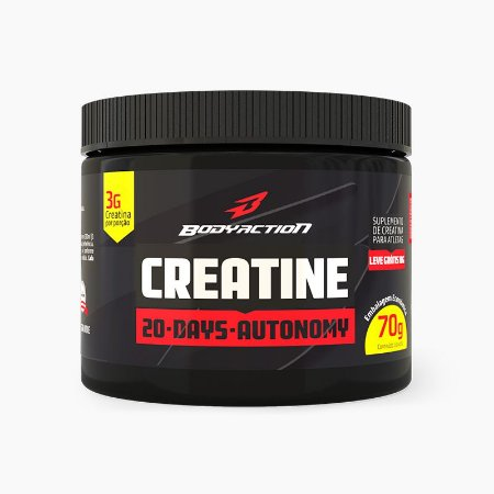 Creatina 20-Days Autonomy (70g) - Body Action