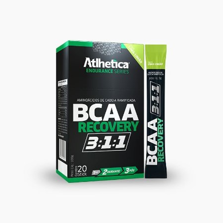 BCAA RECOVERY 3:1:1 (20 Sticks) - Atlhetica Nutrition