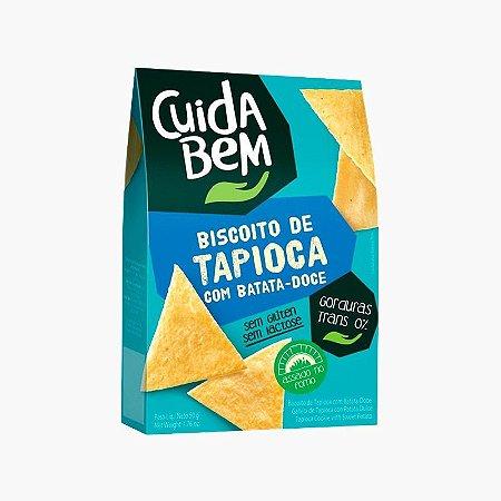 Biscoito De Tapioca e Batata Doce (50g) - Cuida Bem