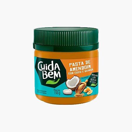 Pasta de Amendoim de Coco Com Quinoa (150g) - Cuida Bem (Venc Dez)
