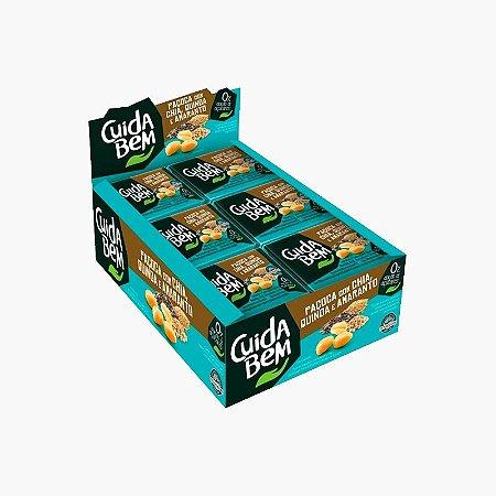 Paçoca Com Chia, Quinoa e Amaranto (24 unidades) - Cuida Bem