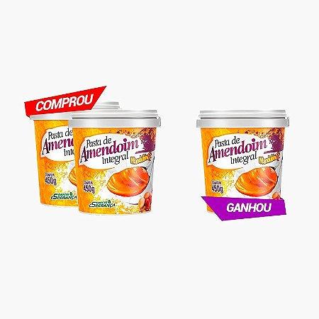 Pasta De Amendoim Integral (Compre 2 Leve 3) - Mandubim