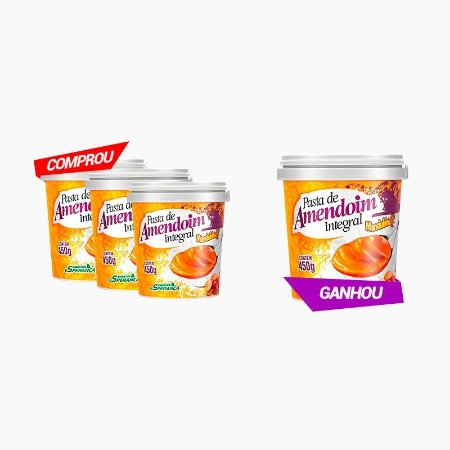 Pasta De Amendoim Integral (450g) (Compre 3 Leve 4) - Mandubim (VENC: 03/2017)