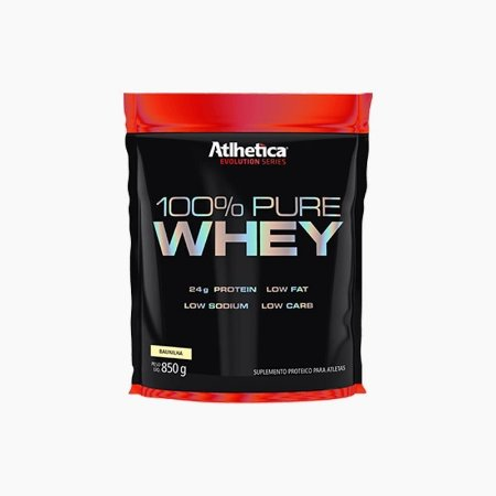 100% Pure Whey Refil (850g) - Atlhetica Nutrition
