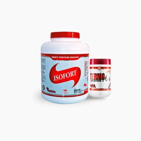 Isofort (2000g) + Termo Plus (300g) + Multimax (90caps) - Vitafor