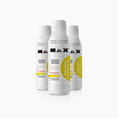 Whey Drink (480ml) - Max Titanium VENC: FEV/2017