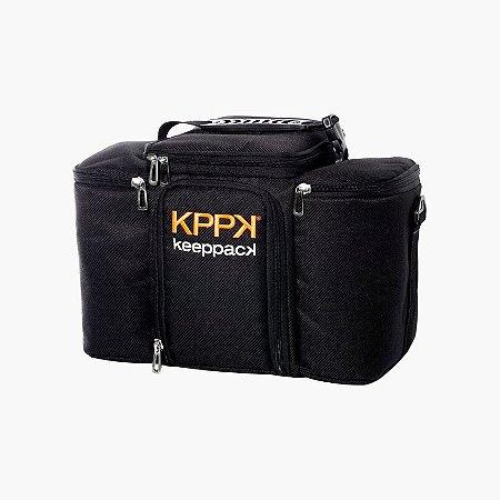 Bolsa Térmica Max Preta - KeepPack