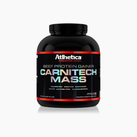 CARNITECH MASS (3KG) - Atlhetica Nutrition