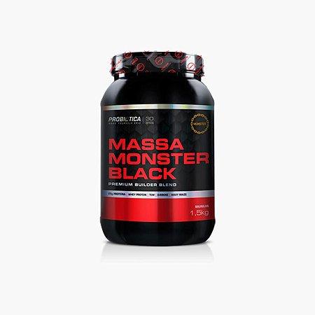 Massa Monster Black (1,5kg) - Probiótica