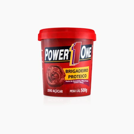Pasta de Amendoim Com Brigadeiro (500g) - Power One