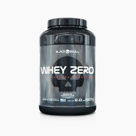 Whey Zero (907g) - Black Skull