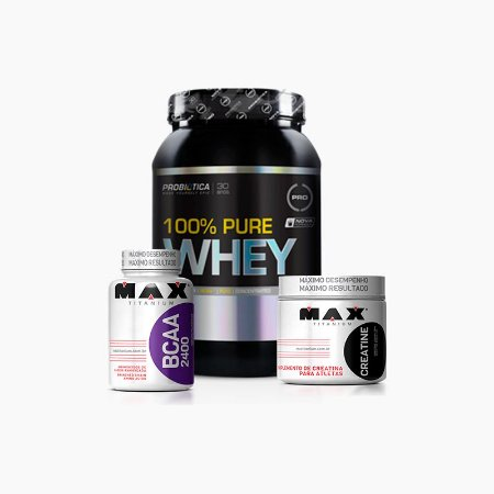 Kit Pure Whey - Probiótica