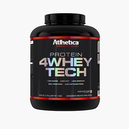4 Whey Tech (2,310g) - Atlhetica Nutrition