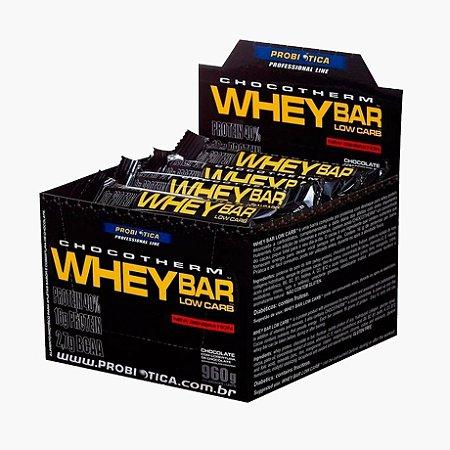 Whey Bar - Low Carb (24 barras) 40g - Probiótica