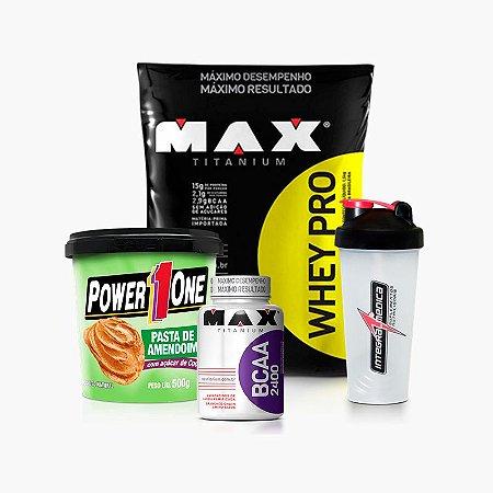 Kit Protein Gourmet - Max Titanium