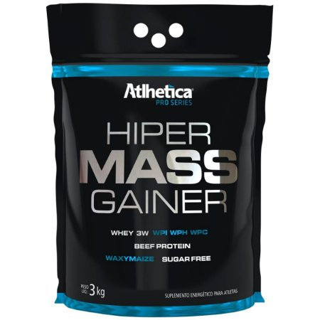 Hiper Mass Gainer (3kg) - Atlhetica Nutrition