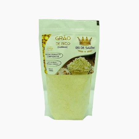Farinha de Grãos de Bico (200g) - Rei de Salém VENC (06/18)