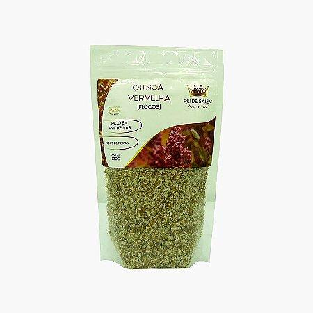 Quinoa Vermelha em Flocos (120g) - Rei de Salém