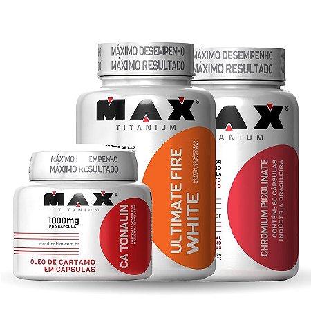 Combo Queimador Extremo + Brinde - Max Titanium