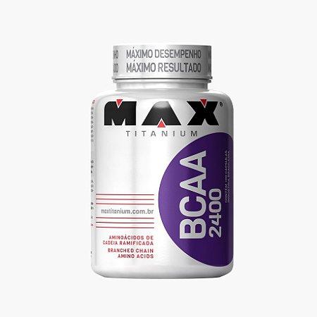 BCAA 2400 (100 caps) - Max Titanium VENC (28/07/18)