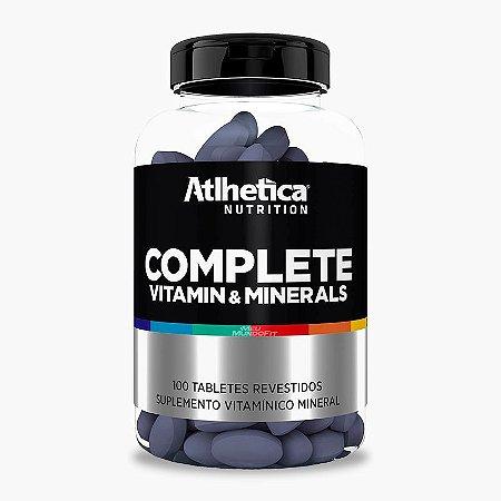 COMPLETE VITAMIN E MINERAIS (100TABS) - ATLHETICA