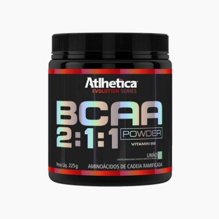BCAA Powder 2:1:1 (225g) - Atlhetica Nutrition (VENC.: 06/10/17)