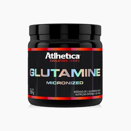 Glutamina Micronizada (500g) - Atlhetica Nutrition