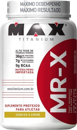 MR-X Time Release Protein (1000g) - Max Titanium VENC (O7/18)
