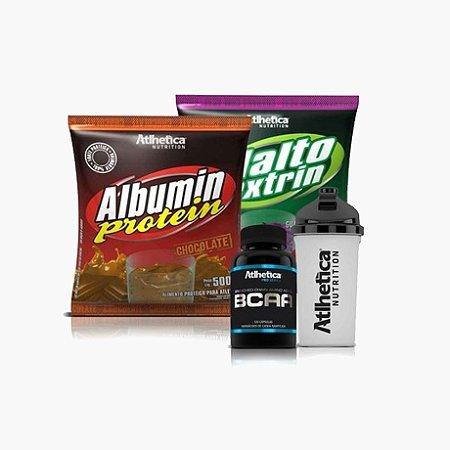 Combo Albumina + BCAA + Maltodextrina - Atlhetica Nutrition