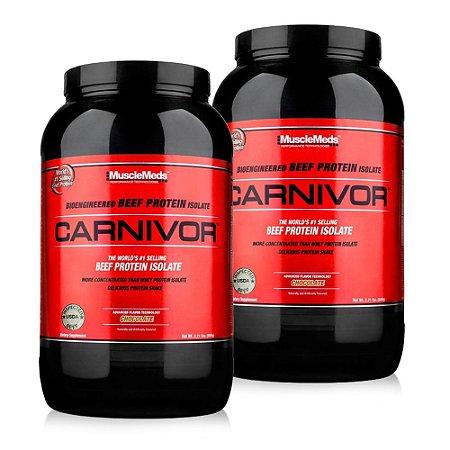 2x Carnivor (924g/2lb) - Grátis Shaker - MuscleMeds
