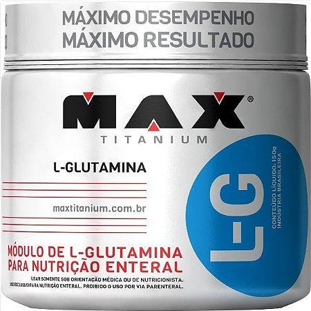 Glutamina (150g) - Max Titanium