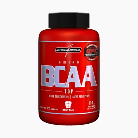BCAA TOP (120caps) - Integral Médica