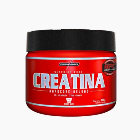 Creatina Hardcore Reload (100g) Integral Médica