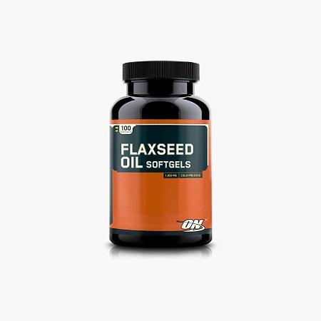 Flaxseed Oil - Óleo de Linhaça (100caps) - Optimum Nutrition