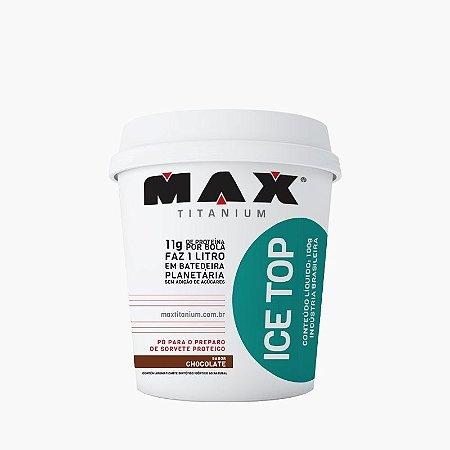 Ice Top (Sorvete Proteico) Rende 1 Litro - Max Titanium