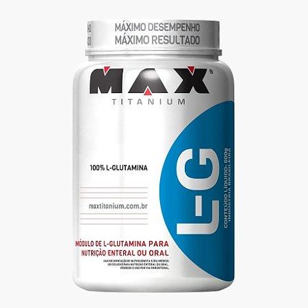 Glutamina (600g) - Max Titanium