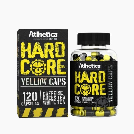 Hardcore Yellow Caps (120 caps) - Atlhetica Nutrition