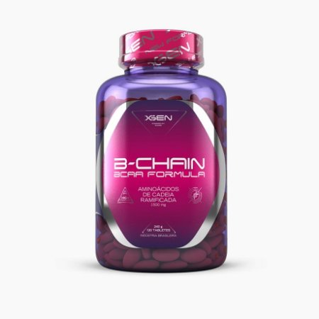 BCAA B-CHAIN 1500mg (120caps) - XGEN Nutrition