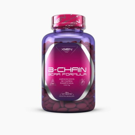 BCAA B-CHAIN 1000mg (120caps) - XGEN Nutrition