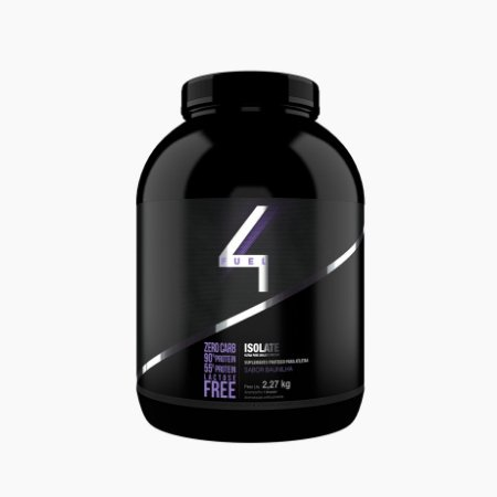 Whey Isolate (2,270g) - ZERO LACTOSE - 4 Fuel