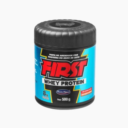 First Whey Protein (500g) - Santa Helena - Pasta de Amendoim (VENC.:16/11/17)