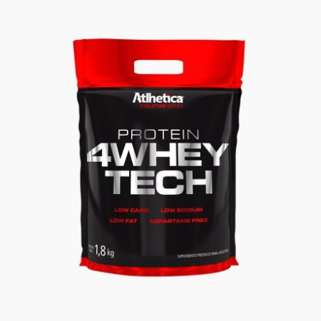 4 Whey Tech (1800g) - Atlhetica Nutrition