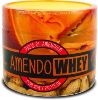 Pasta de Amendoim c/Whey Protein (250g) - AmendoWhey