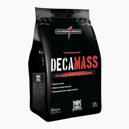 Deca Mass Darkness (1,5kg) - Integral Médica