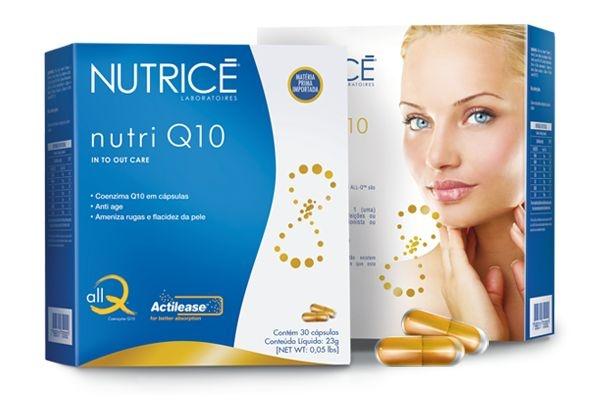 Nutri Q10 (Coenzima Q10) - Nutrice Integral Medica