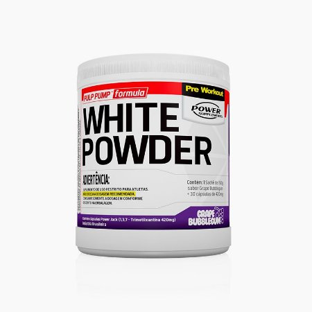 White Powder (150g+30caps) - Power Supplements