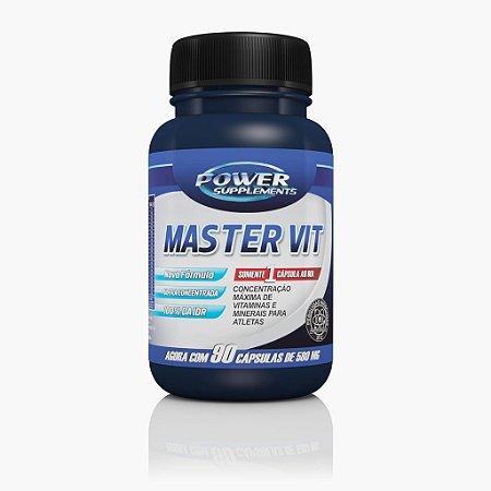 Master Vit Multivitamínico (90caps) - Power Supplements
