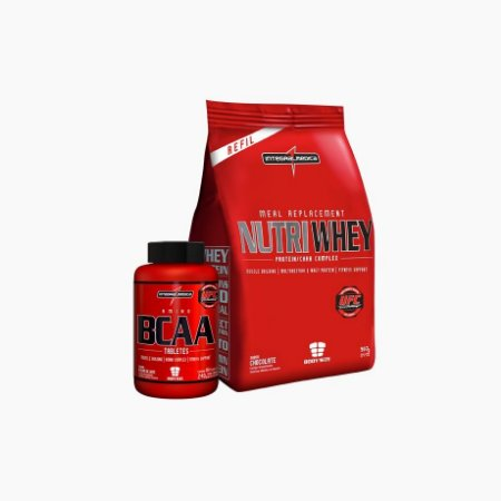 Nutri Whey Sc 900g + Amino Bcaa 150 Caps - Integral Médica