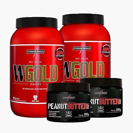 2x Wgold + 2x Peanut butter - Integral Medica