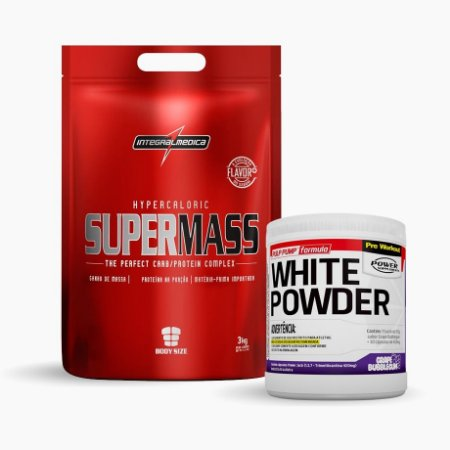 White Powder + Super Mass 3kg Integral Medica